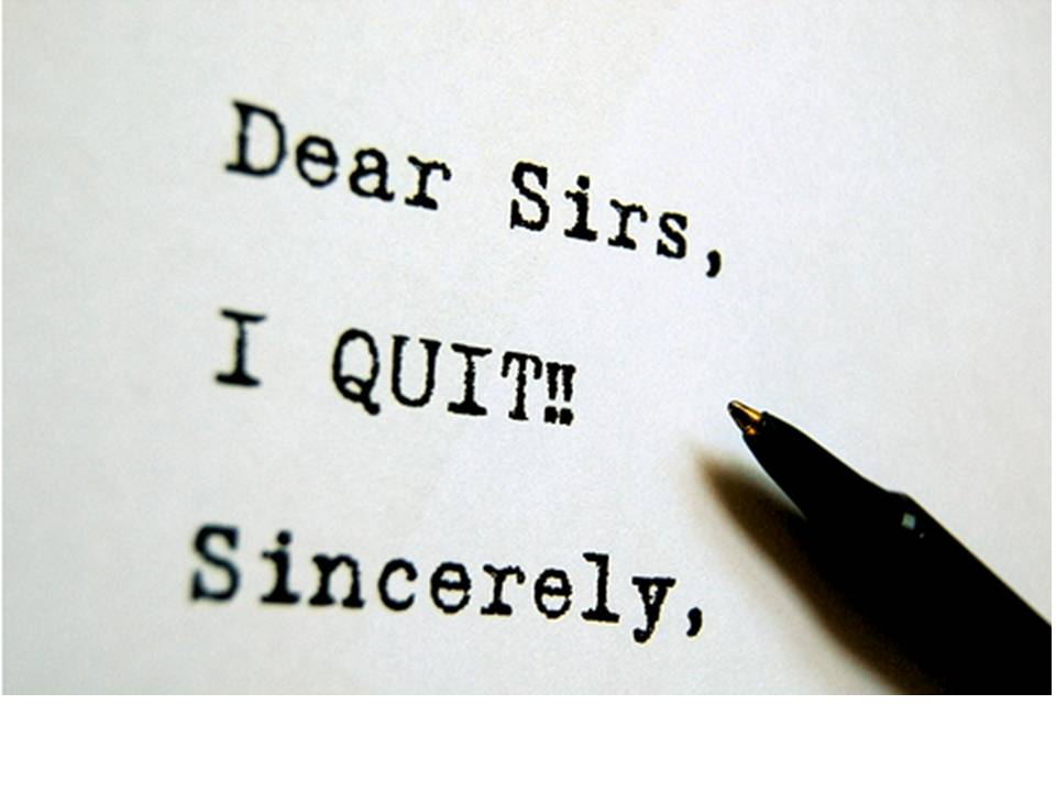 How to Quit Your Job. (With Class.) | Dating, Debating ...